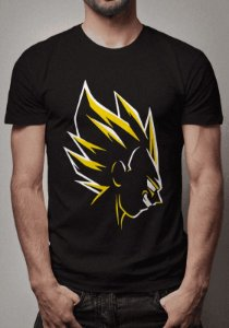 Camiseta Vegeta Super Sayajin Dragon Ball