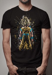 Camiseta Goku Super Sayajin Dragon Ball