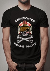 Camiseta Starfighter Rogue Pilots Star Wars