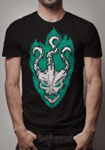 Camiseta Thresh Sketch League of Legends