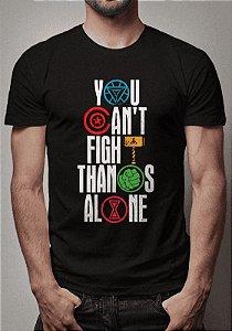 Camiseta Vingadores x Thanos Vingadores Ultimato