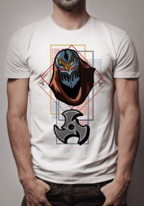 Camiseta Zed Shuriken League of Legends