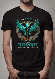 Camiseta Support League of Legends