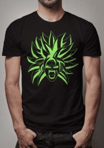 Camiseta Broly Sketch Dragon Ball