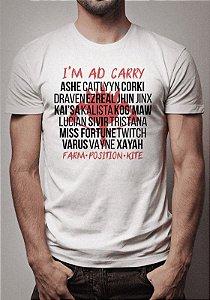 Camiseta ADC League of Legends