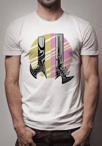 Camiseta Armas do Lucian League of Legends