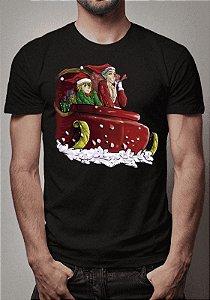 Camiseta Natal Feliz Nanatsu no Taizai