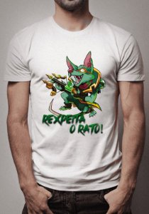 Camiseta Twitch Rexpeita o Rato League of Legends