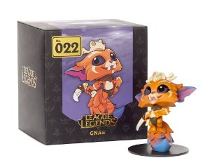 Boneco Gnar League of Legends