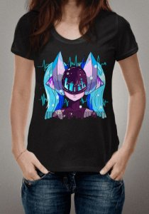 Camiseta DJ Sona League of Legends - OUTLET