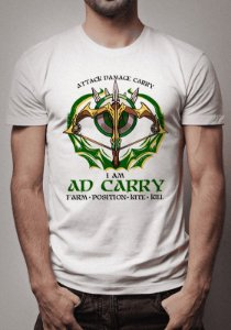 Camiseta AD Carry League of Legends - OUTLET