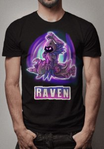 Camiseta Raven Fortnite- OUTLET