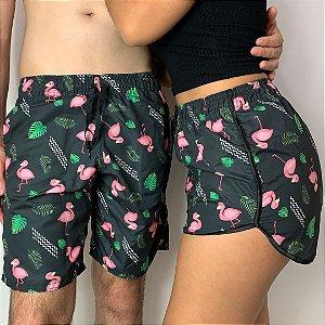 Kit Shorts Mozão Flamingos + Frete Grátis