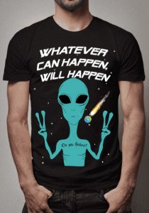 Camiseta Aliens e ET's