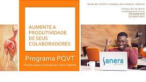 Programa PQVT - Produtividade e Qualidade de Vida no Trabalho