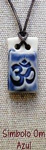 Difusor Aromático Pessoal – OM Azul Reto (porcelana)