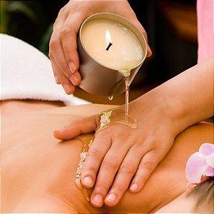 Massagem com Vela Terapêutica