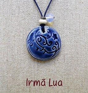 Difusor Aromático Pessoal – Irmã Lua (porcelana)