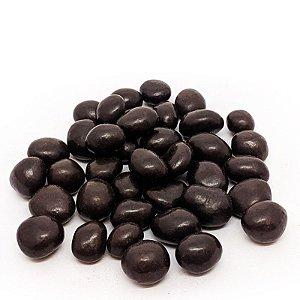 Drágea de uva passa com chocolate 70% - a granel