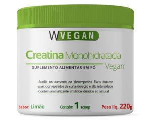Creatina Monohidratada Vegan - WVegan 210g
