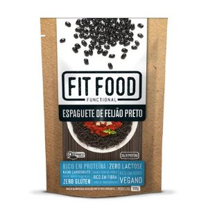 Espaguete de feijão preto Fit Food