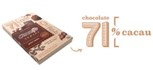 Chocolate 71% cacau Chocolife senses 25g