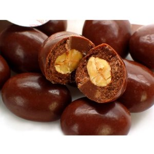 Amêndoas cobertas com chocolate 50% ao Leite - a granel