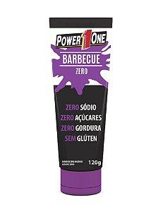 Molho barbecue zero açúcar PowerOne 120g