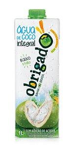 Água de coco integral Obrigado 1L