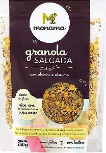 Granola Salgada com Alecrim e Cúrcuma MONAMA 250 g