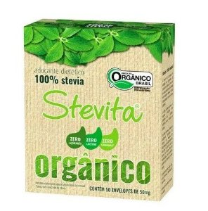 Kit 6 - Adoçante Em Pó Orgânico Sache 50 X 0,5g - Stevita