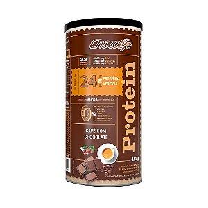 Chocolife Protein Café Com Chocolate - Proteína Vegana - 480g