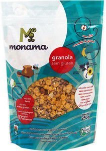 Granola Mel Orgânica Monama 250g - Sem Glúten