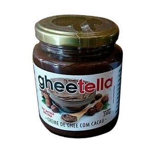 Gheetella Creme De Manteiga Ghee Com Cacau 240g - Lorenzzo