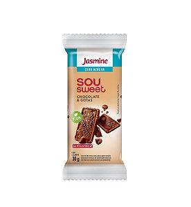 Biscoito Sou Sweet - Chocolate & Gotas - Jasmine 30g