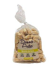 Biscoito de Côco - Sem Glúten - Donna Asta 300g
