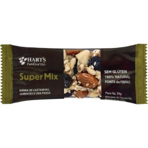 Barra de Cereais Hart's Natural Super Mix - 30g