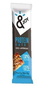 Barra de Protein Nuts Côco e Amêndoas - &JOY 35g