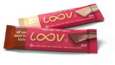 Chocolate ao Leite de Coco LOOV