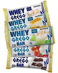 WHEY GREGO BAR NUTRATA 40G