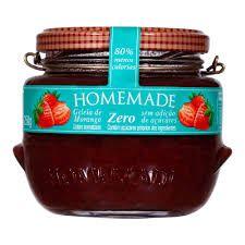 Geleia Homemade Zero Açúcar - Morango
