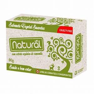 Sabonete Natural Suavetex com Extrato Orgânico de Camomila