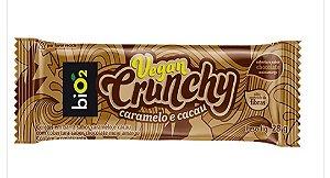 Barra BiO2 Vegan Crunchy Caramelo e Cacau 28g