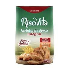 Farinha de Arroz Integral RisoVita 500g