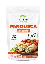 Mistura Integral p/ Massa de Panqueca s/ Glúten 200g Vitalin