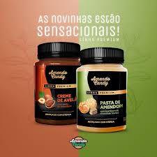 Pasta de Amendoim - Amendo Candy Linha Premium