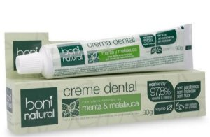 Creme Dental Boni Natural 90g