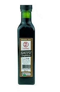 Shoyu Orgânico 250ml - Família Hattori