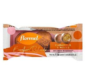 Bombom de Caramelo e Nozes Zero Açúcar 37g - Flormel