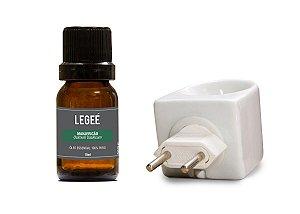 Aromatizador + Óleo essencial de Manjericão
